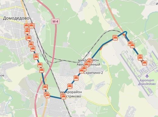 Route de bus 57.