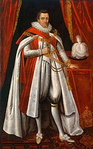Witch-burner & Bible-botherer James I of England
