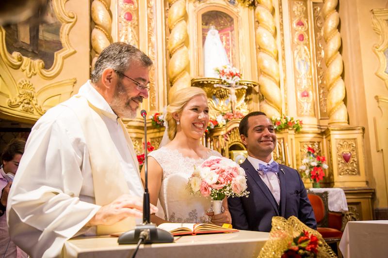 Momento especial casando na Argentina