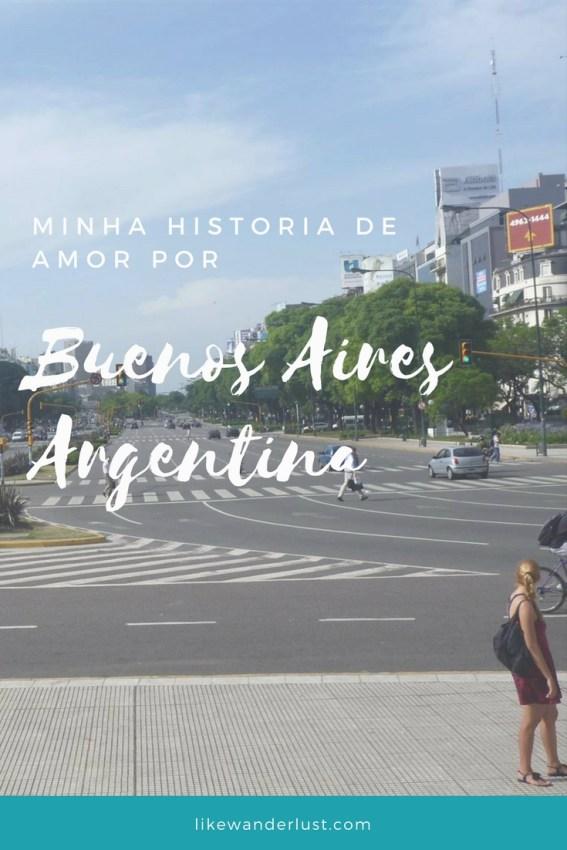 Minha historia de amor por Buenos Aires