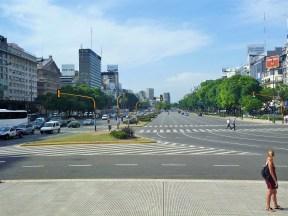 Avenida 9 de Julho - a mais larga do mundo