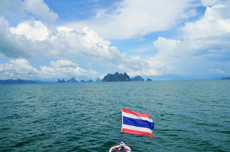 Navegando por Phang Nga Bay