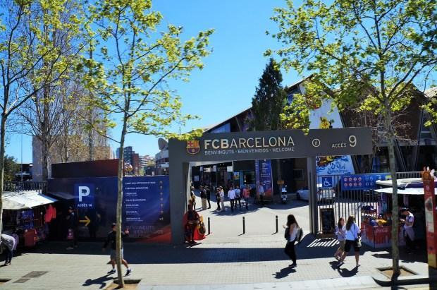 Passeando no Ônibus Turístico de Barcelona - Barcelona FC