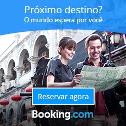 Reserve seu hotel com booking.com aqui