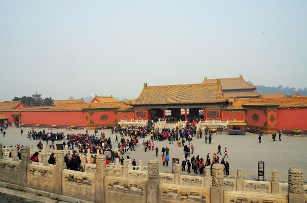Dentro da Cidade Proibida de Pequim