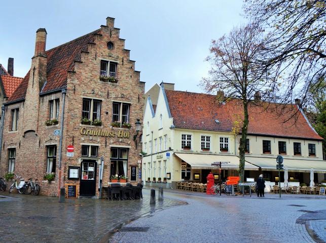 Onde comer em Bruges? Gruuthuse Hof