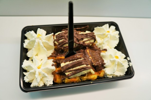 comidas imperdíveis para provar na Bélgica - recheios deliciosos