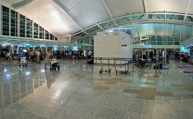 Aeroporto Internacional de Bali - check in