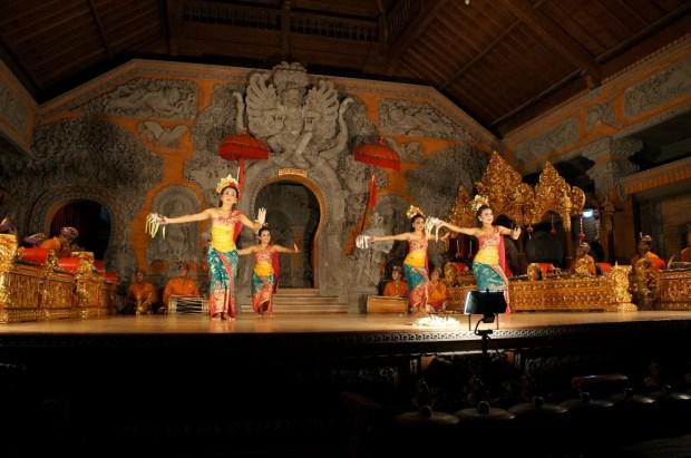 Coisas para fazer em Ubud - dança tradicional balinesa