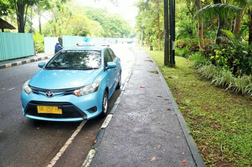 Como se locomover em Bali - Táxi oficial de Bali