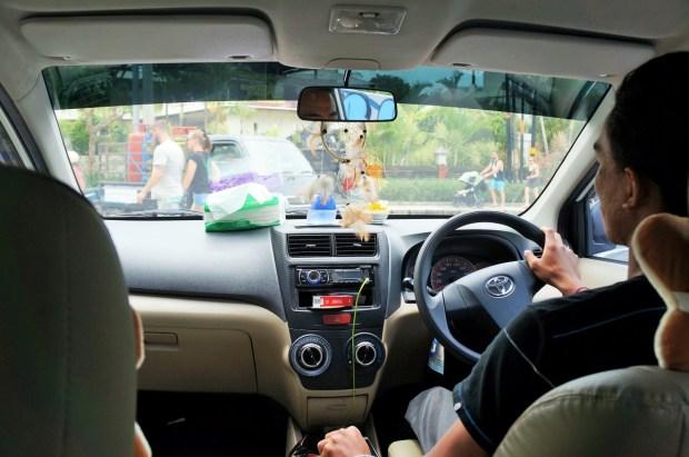 Como se locomover em Bali - Uber