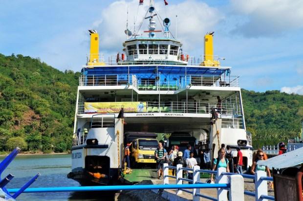 Ilhas Gili em Lombok - Ferry devagar