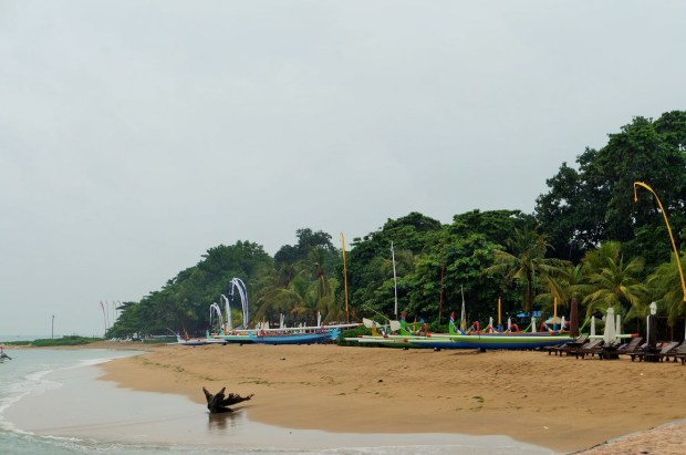 O que fazer em Sanur - calma praia de Sanur