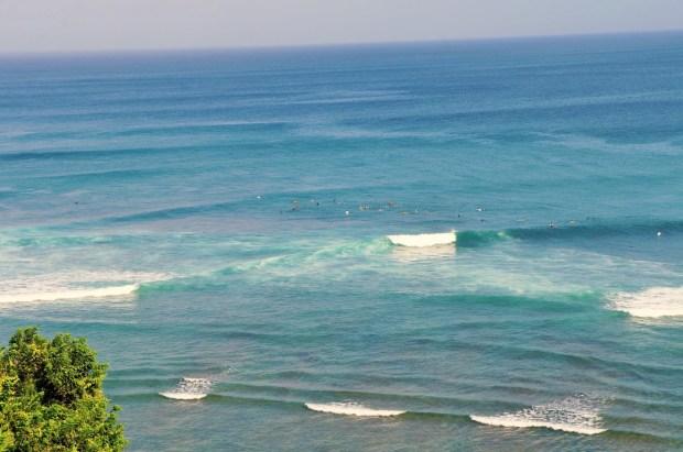 Uluwatu e suas ondas