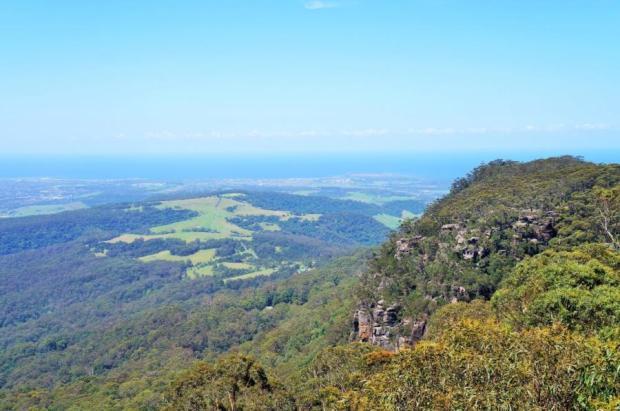 região de Illawarra - linda vista