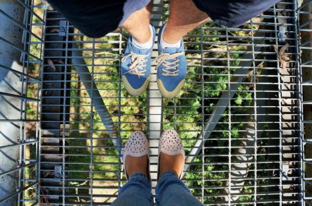 região de Illawarra - altura das passarelas