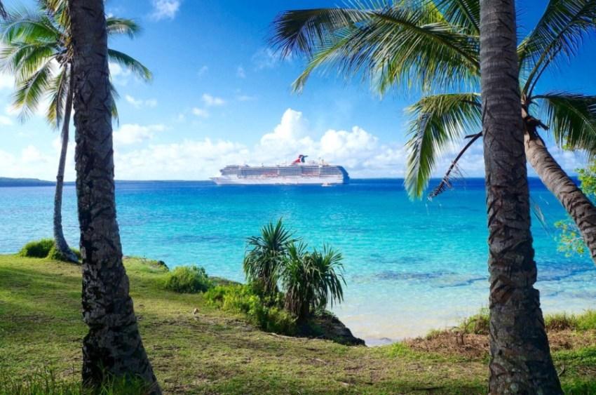 Fazer ou não as excursões do Cruzeiro - destino paradisiaco