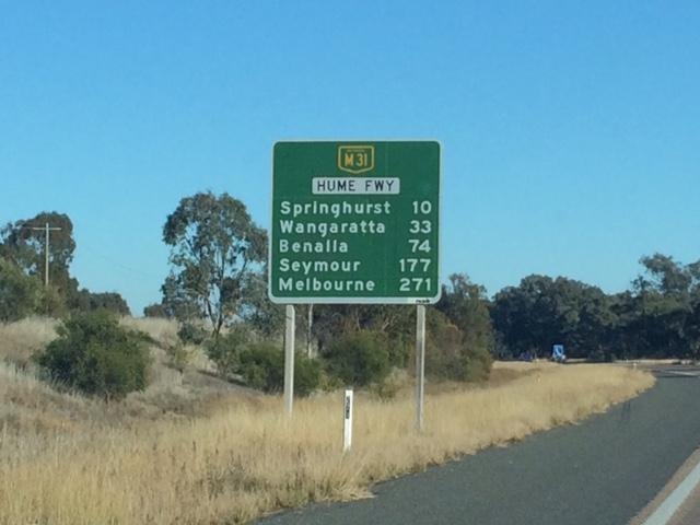 viajar de Sydney a Melbourne - chegando