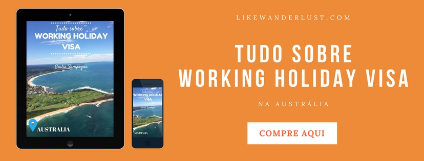 E-book Tudo Sobre Working Holiday Visa Austrália