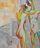 Sjenka poslije, 60,5 x 50 cm, ulje na platnu, 2011.