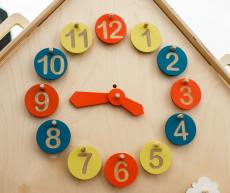 Accessory set CLOCK for your LiL HOUSE playhouse