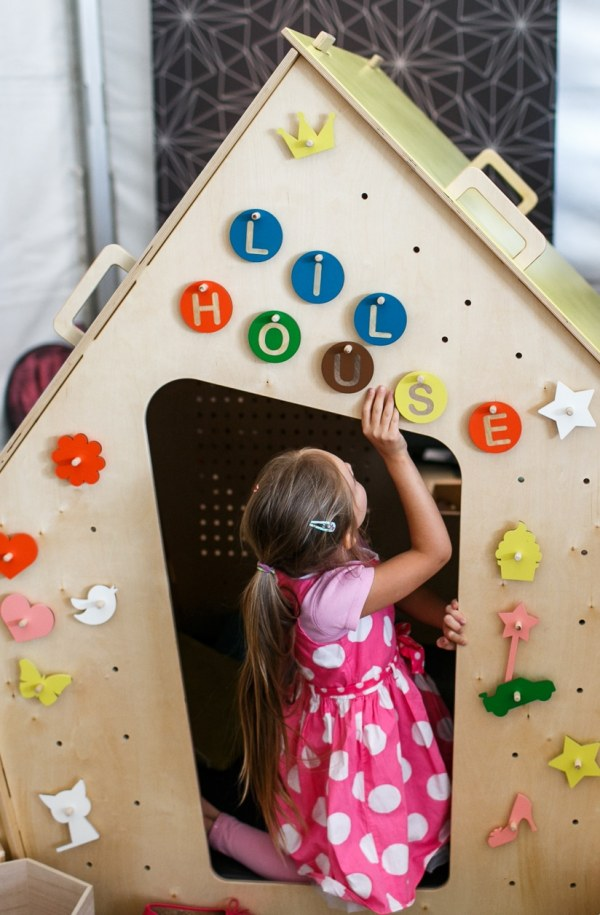 Accessory set ALPHABET for your LiL HOUSE playhouse