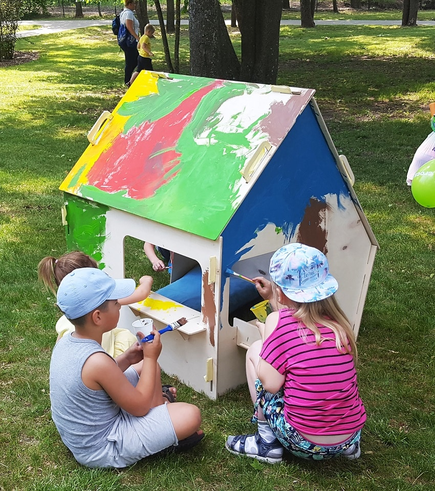 lil-house paintable playhouse