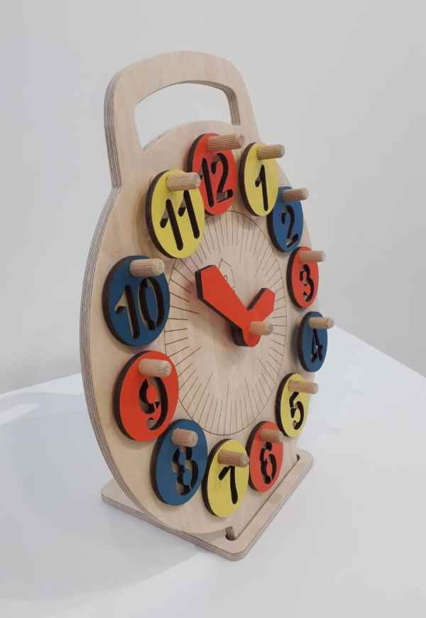 lil-house learning clock handle