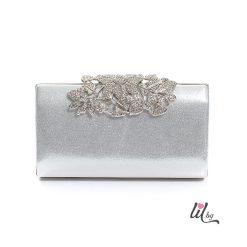 Сребриста чанта Greys