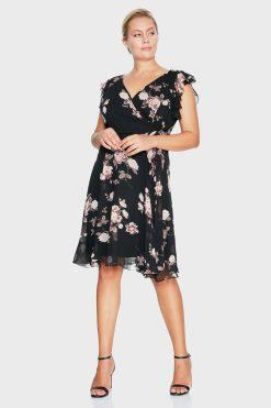 Макси рокля с цветя