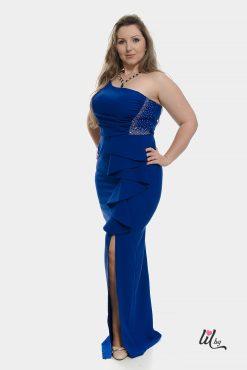 Официална синя рокля