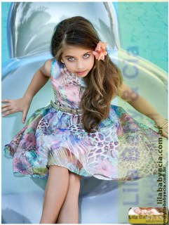 Vestido Estampado Miss Cake Doce Princesa