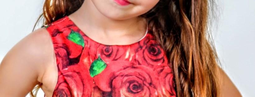 Vestido Infantil Miss Cake Moda Infanto Juvenil 510228