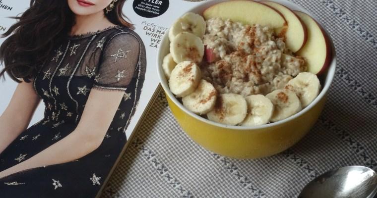 REZEPT: winterliches Porridge //food