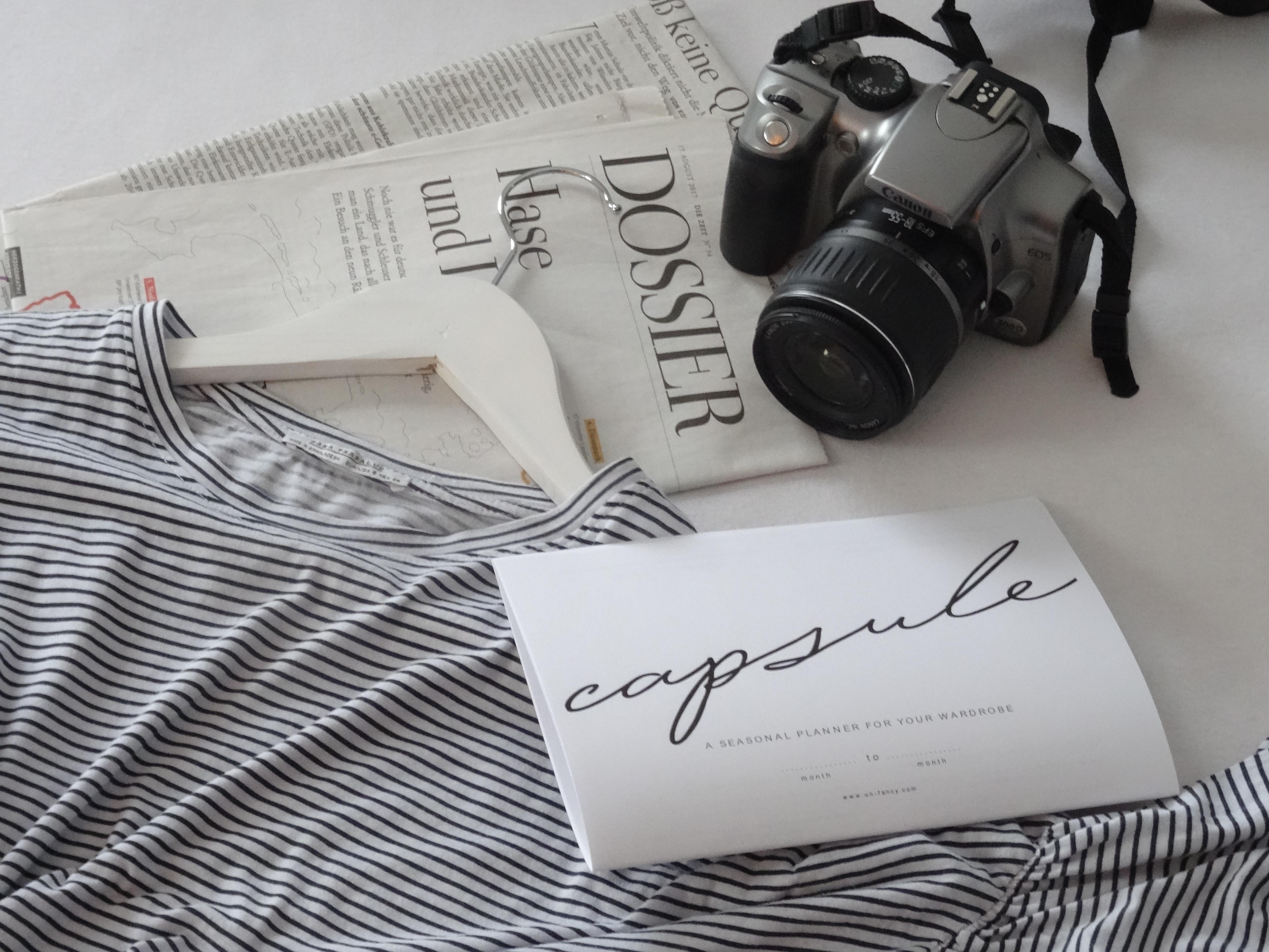 """Der """"Capsule Wardrobe"""" als Selbstversuch //fashion"""