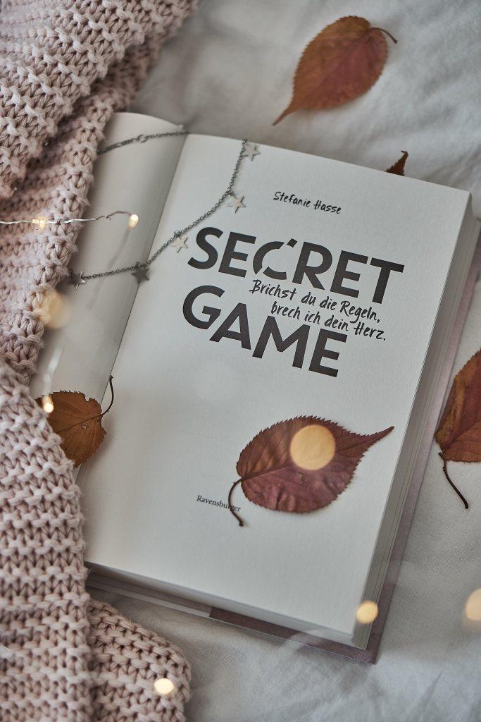 Rezension zu Secret Game von Stefanie Hasse