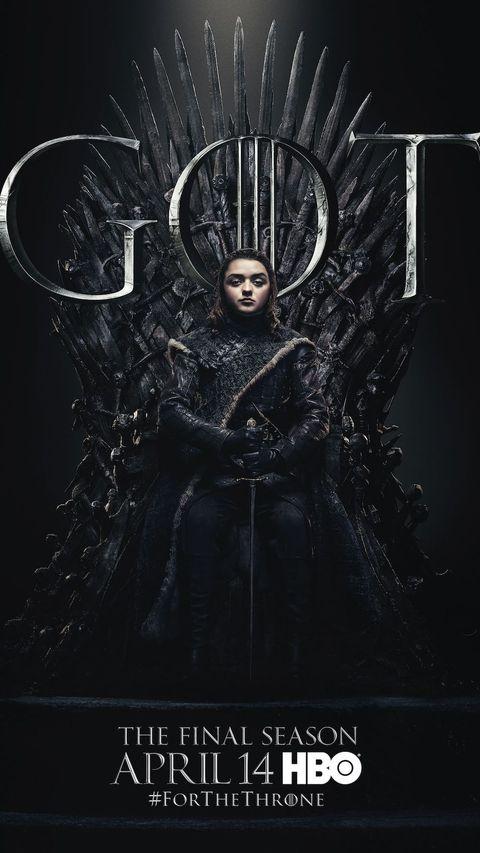 Arya's Game of Thrones Season 8 Poster