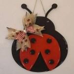 Layered LAdy Bug Hanger