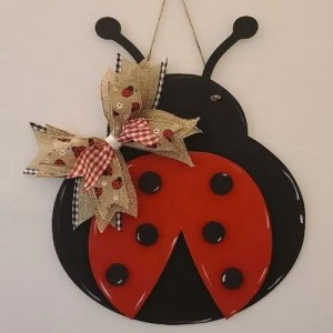 Layered LAdy Bug Hanger