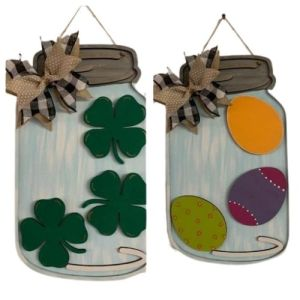 Interchangeable Mason Jar Hanger