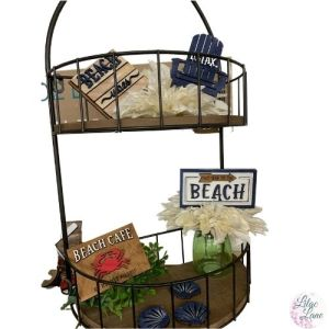 Beach Living Tiered Tray Set