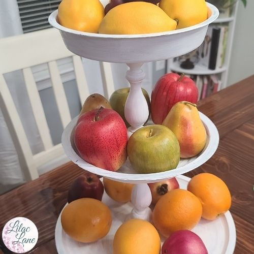 How to Make a Dollar Store Tiered Tray