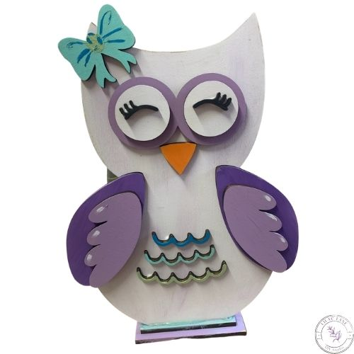 Owl with Bow