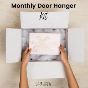 Monthly Door Hanger Membership