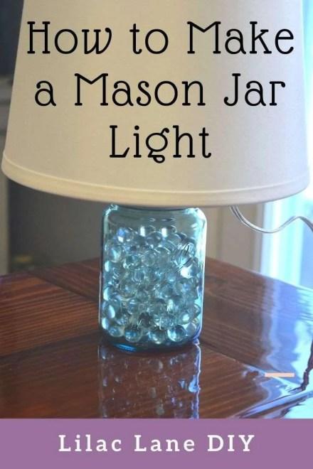 How to Make a Mason Jar Light