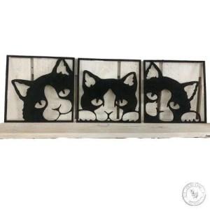 Cat Trio Set