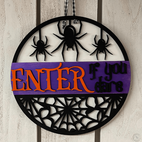 Enter if you dare sign