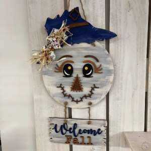 Scarecrow welcome