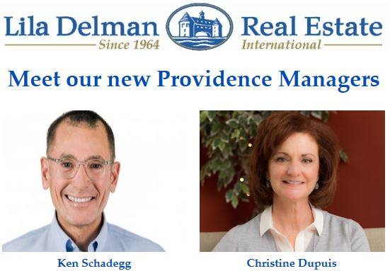 LILA DELMAN ANNOUNCES NEW LEADERSHIP IN PROVIDENCE