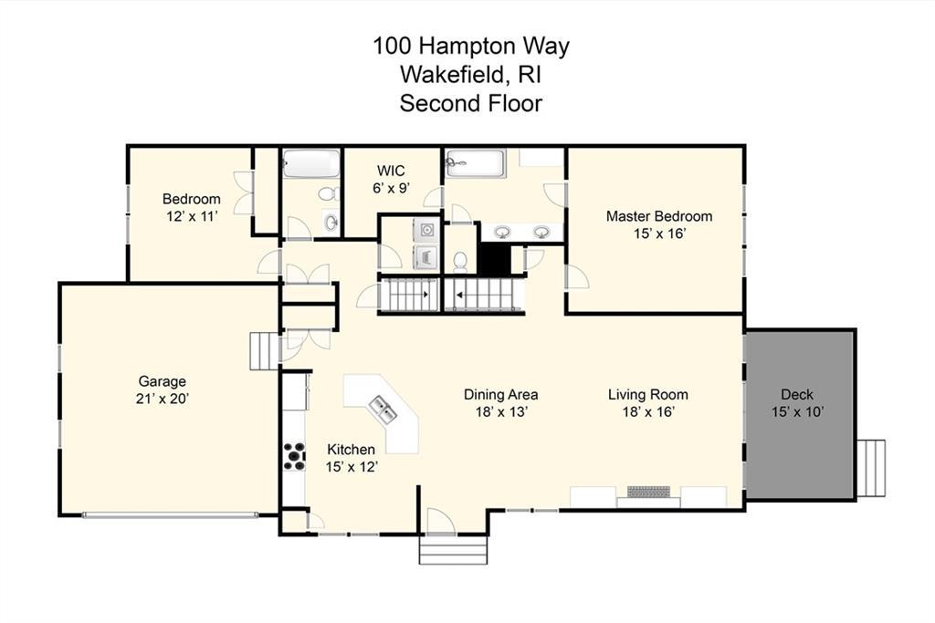 100 Hampton Way Way, Unit#100, South Kingstown